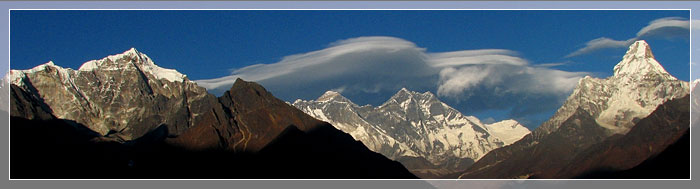 Mt. Everest and Skyline